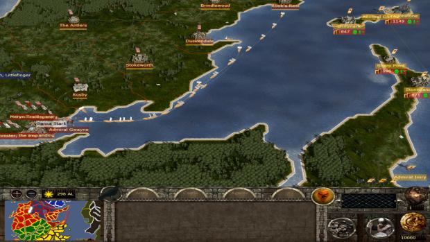 Baratheon of Dragonstone strat-map Preview!