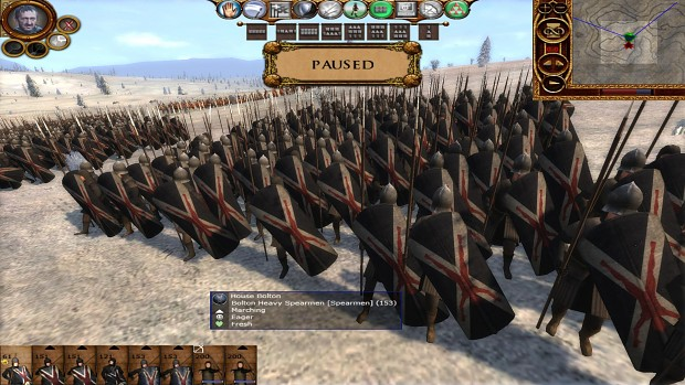 New remade House Bolton Heavy Spearmen!