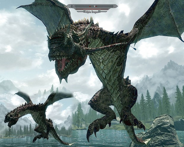 Alpha Dragon image - SkyMoMod V13 for Elder Scrolls V