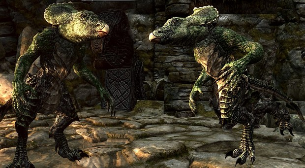 Скайрим мод Skyrim Immersive Creatures