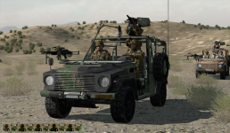 Dutch Armed Forces v0986 Wolf M2