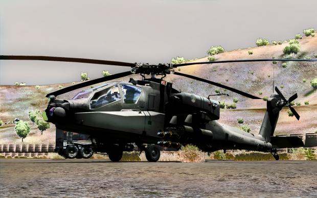 Dutch Armed Forces v0.97 AH-64 Apache
