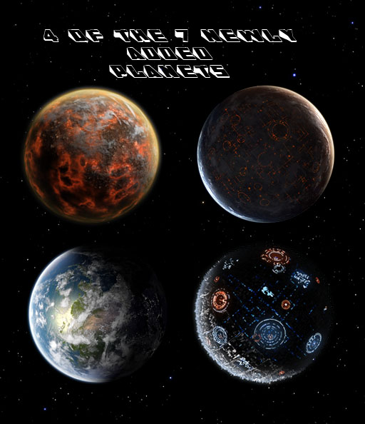 4 of 7 new planets