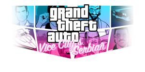 Vice City's Serbian new logo