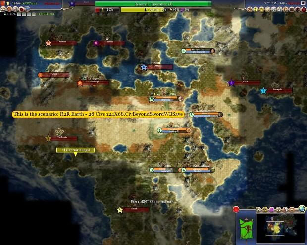 Earth Scenario image - Rocks 2 Rockets mod for Civilization ...