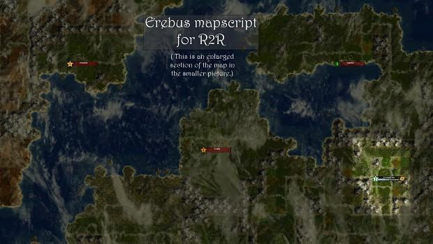 Erebus map script for R2R