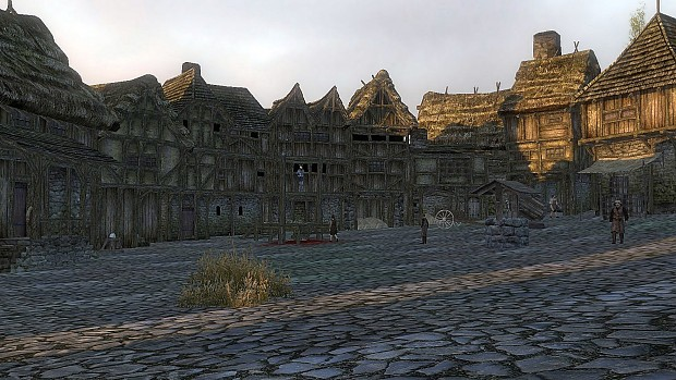 A random village scene
