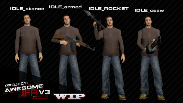 Awesome .IFP V3 WIP - Stances