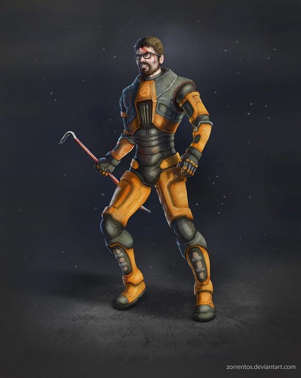 Gordon's New HEV Suit Concept