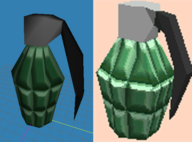 """Very Early"" World Grenade [W.I.P.]"