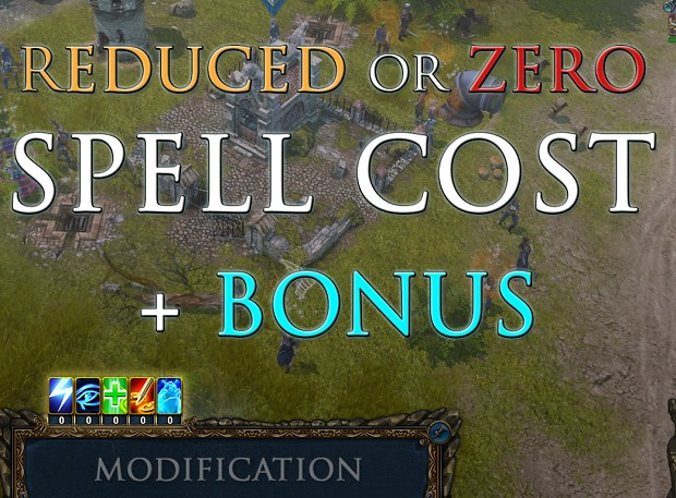 Reduced or Zero Spell Cost + Bonus! - Image #1