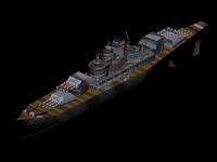 Bismarck-class super battleship