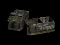 Armoured lorry upgrade