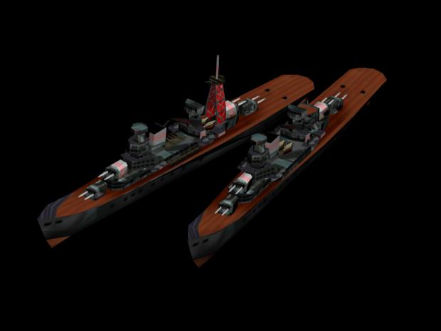 Algerie-class cruisers