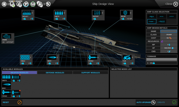 In-game Cruiser