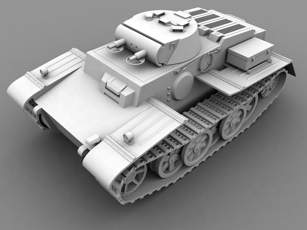 Panzer I Ausf.F Finished model