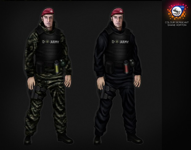 Colour Sergeant Shane Horton