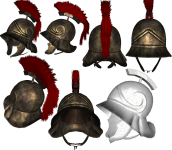 roman decurion helmet