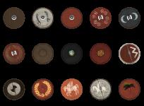 Roman shields (parma)