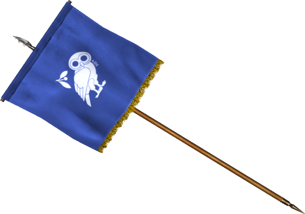 athenian flag standard
