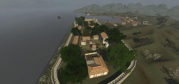 Etruscan Coastal Town