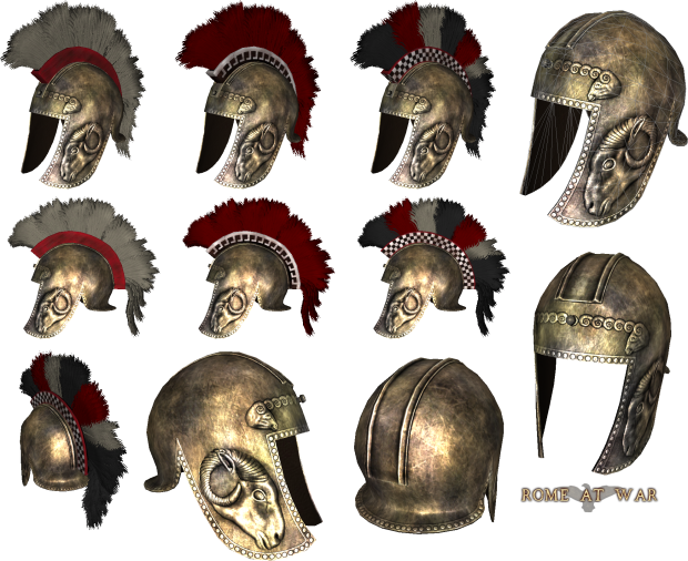 Illyrian Helmet Type3 Image Rome At War2 Mod For Mount