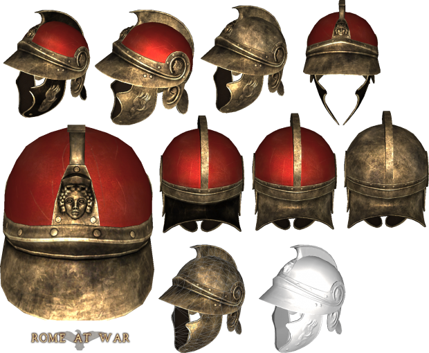 Tanit Thracian Helmet4 Image Rome At War2 Mod For Mount