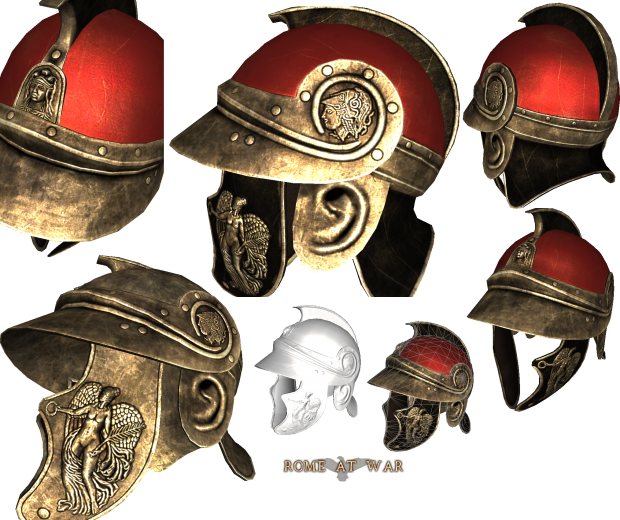 Traco Attic Helmet Nike Image Rome At War Mod For Mount