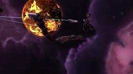 Loss's Capital Ships Mod in action