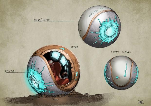 Spacepod (Earth Tech)
