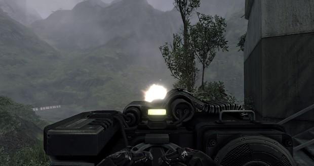Warhead's mini gun