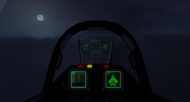 Unused Material (F-35 cockpit)