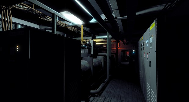 Unused Material (submarine interior)