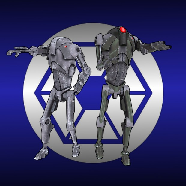New battledroid models for Confederacy