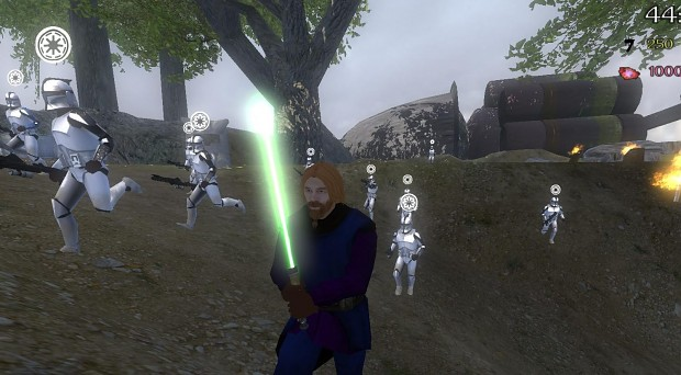 Jedi in action