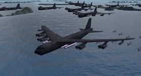 B52H USABomber flok