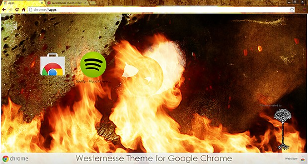 Westernesse Theme for Google Chrome