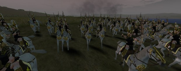 Amazons: Total War 7.0E Guards in Action