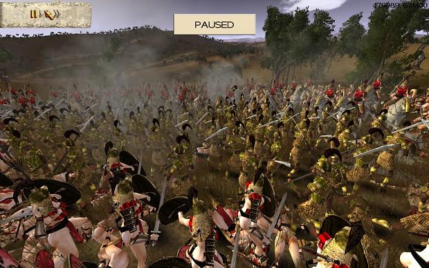 Ptolemaic Meroitic Guard vs. Amazons part 2