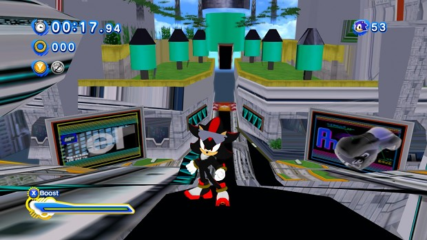 Shadow With Glasses image - Sonic Generations - Project