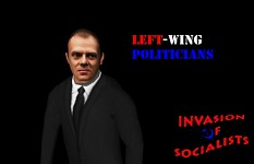 Donald T. New boss of Invasion of Socialists