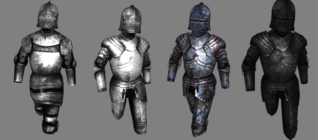 Empire Knight Armors Variety