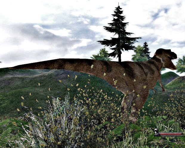 T-rex textured