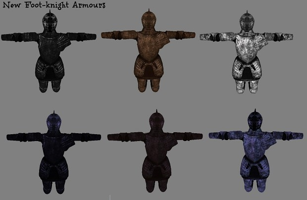 New Foot-Knight Armours