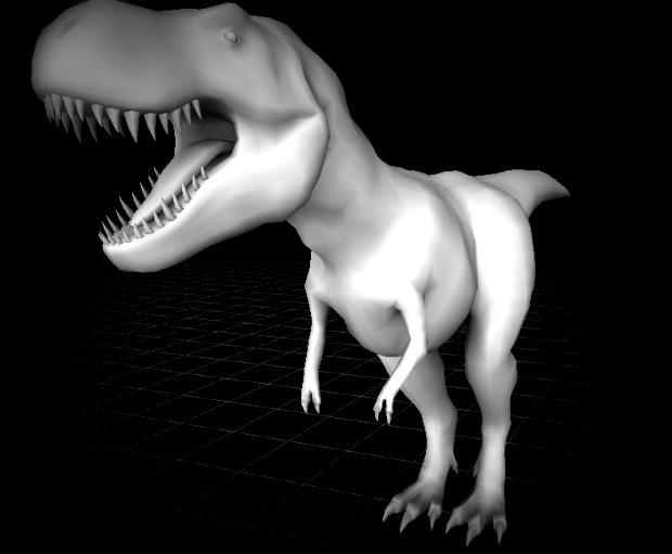 Rigging T-rex