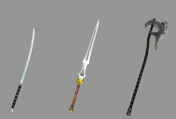 New Legendary Two handed weapons!