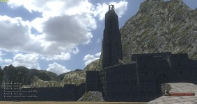 "Helms Deep! ""The Hornburg"""