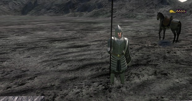 Minas Morgul + New idle standing animation