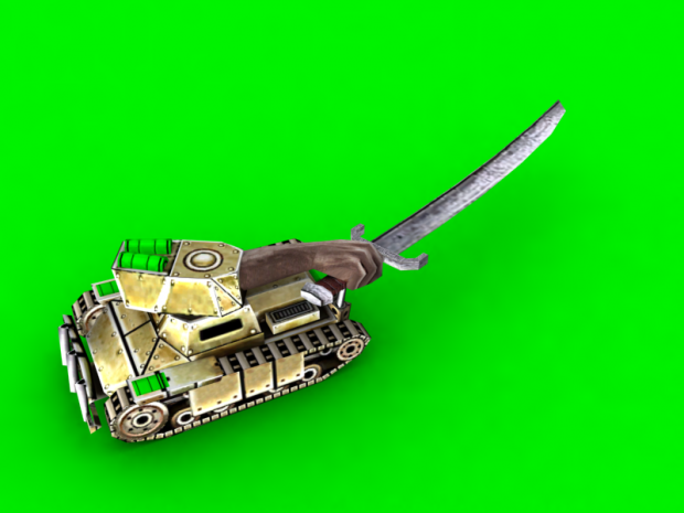 GLA Poverty General's Swordion Tank