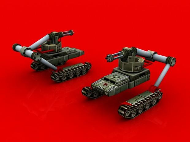 China Gattling Tank
